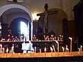 Candles before Crucifix Tbilisi 23 (8897308201).jpg