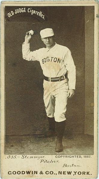 Wild pitch - Bill Stemmyer threw an MLB-record 63 wild pitches in one season.