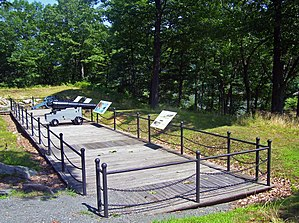 Fort Montgomery (Hudson River) - Cannons at the site of the fort, 2007