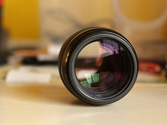 Canon EF 100mm lens - Image: Canon EF 100mm f 2.0 lens, open