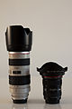 Canon EF 70-200mm F2.8L USM lens with Lens hood and Canon EF 17-40mm F4L USM lens with Canon Lens Hood EW-83E.jpg