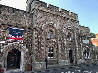 Kent Police - Image: Canterbury City Police Station