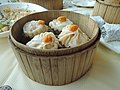 Cantonese Xiao Long Bao with crabs seed in Chinese restaurant.jpg