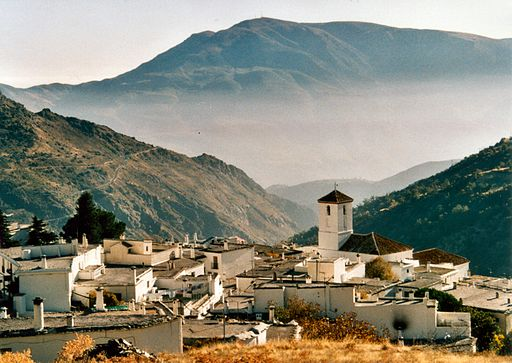 Picturesque mountain village of Capileira,Spain