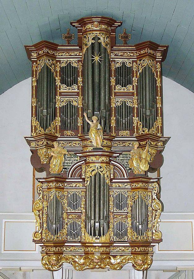 Organ of St. Peter and Paul in Cappel
