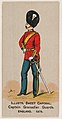 Captain Grenadier Guards, England, 1879, from the Military Series (N224) issued by Kinney Tobacco Company to promote Sweet Caporal Cigarettes MET DPB874105.jpg
