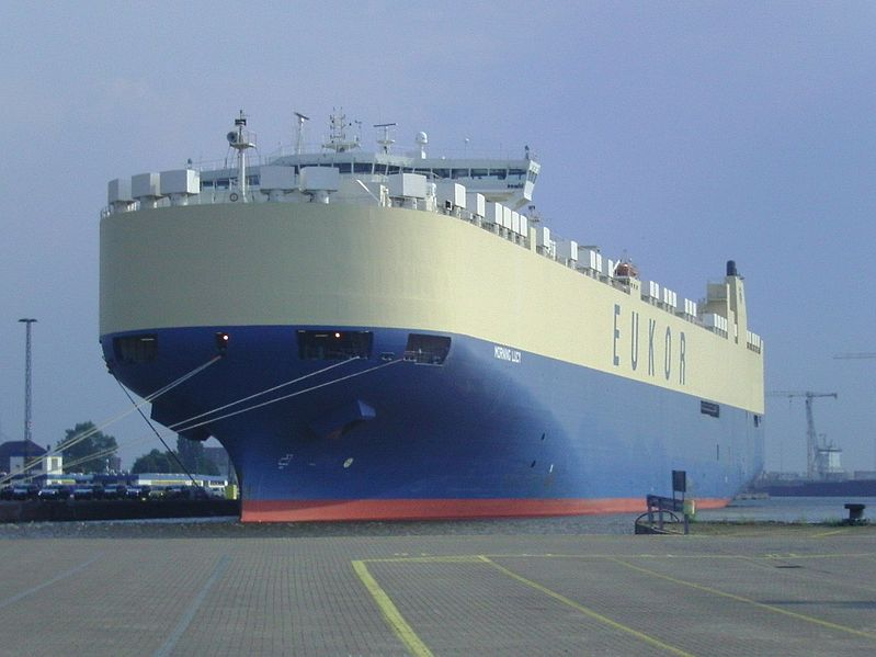 File:Car carrier Morning Lucy.jpg