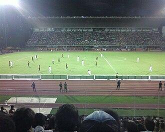 Caracas FC - Caracas FC game, 2008–09 season; in the Estadio Olimpico de la UCV