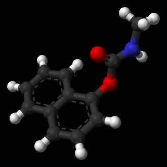 Carbaryl - Image: Carbaryl 3D balls
