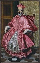 El Greco: Retrato del cardenal Fernando Niño de Guevara