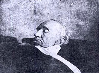 Carl Friedrich Gauss -  Gauss on his deathbed (1855) Daguerreotype