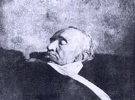 Gauss on his deathbed (1855) Carl Friedrich Gauss on his Deathbed, 1855.jpg