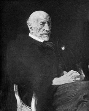 Carl Justi - Carl Justi; portrait by Reinhold Lepsius.