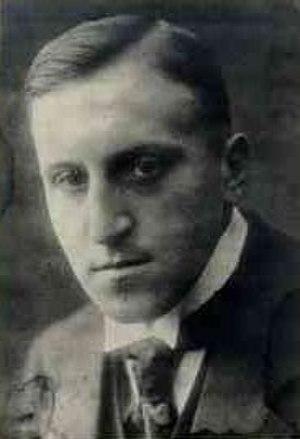 Carl von Ossietzky - Photograph of Carl von Ossietzky taken in 1915