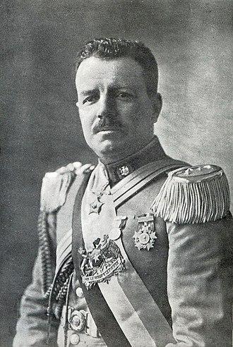 Carlos Ibáñez del Campo - Ibáñez during his first presidency