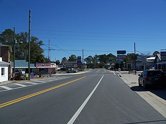 U.S. Route 319 - Image: Carrabelle FL US 98 319 east 01