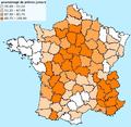 Carte des prêtres assermentés en France en 1791.png