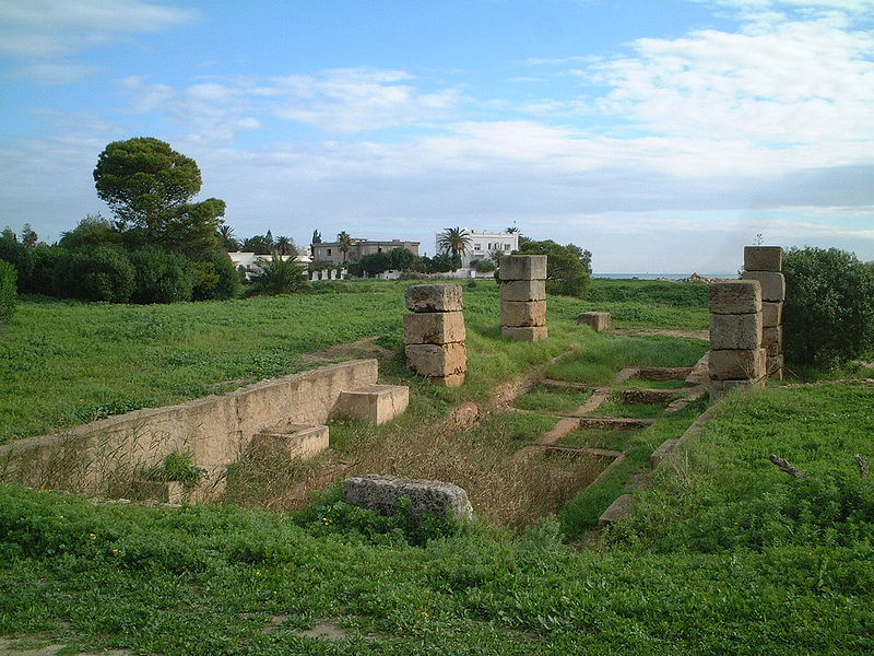 Fichier:Carthage - Punic port.jpg