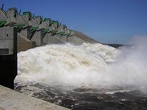 Energy in Venezuela -  Caruachi Dam, Caroní River in Bolivar state, Venezuela (2006) 12 TWh/year