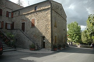 Benito Mussolini - Birthplace of Benito Mussolini in Predappio—the building is now used as a museum