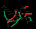 Cascada enzimàtica del procés de coagulació sanguínia.png