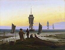 Caspar David Friedrich: Die Lebensstufen, um 1835 (Quelle: Wikimedia)