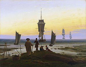 The Stages of Life - Image: Caspar David Friedrich 013