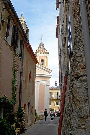 Castellar, Alpes-Maritimes - Image: Castellar France BW 2