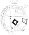 Castello d'introd, pianta attuale, lug 1936, fig 193, disegno nigra.tiff