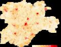 Castilla-y-Leon Densidad-2018.png