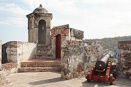 Castillo San Felipe de Barajas - Bartizan 13.jpg