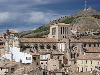 Cuenca Cathedral - Lateral view