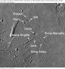 伊西斯陨石坑