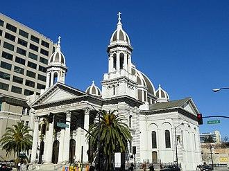 California Historical Landmarks in Santa Clara County, California - Image: Cathedral Basilica of Saint Joseph, San Jose, California DSC03791