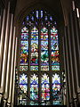 Cathedral of the Most Blessed Sacrament (Detroit, Michigan) - stained glass, The Last Supper.JPG