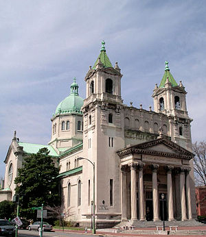 Demographics of Virginia - The Cathedral of the Sacred Heart is located in the Richmond's Fan district.
