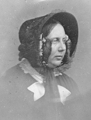 Catherine Dickens - Daguerreotype, taken in 1852