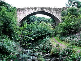 Causey Arch Bridge in United Kingdom