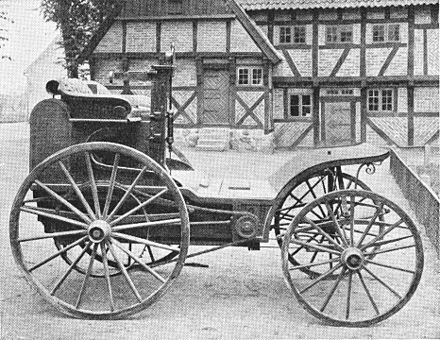 Cederholm #2, built in 1894. - Steam car