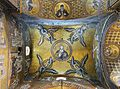 Ceiling of left chapel in Cathedral (Monreale) - Mosaic of Christ Pantocrator.jpg