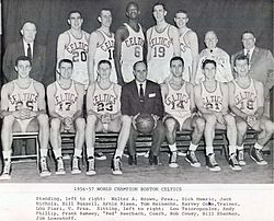 f79c07dfb The 1956–57 team that won the first championship for the franchise. The Celtics  were ...