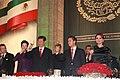 Cena de Estado que en honor del Excmo. Sr. Xi Jinping, Presidente de la República Popular China, y de su esposa, Sra. Peng Liyuan (8960380796).jpg