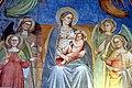 Cenni di Francesco di ser Cenni, Vergine che allatta il Bambino circondata dalle Virtù cardinali e teologali 02.jpg