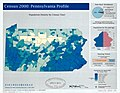 Census 2000-Pennsylvania profile - population density by census tract LOC 2004625630.jpg