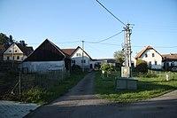 Center of Rousměrov, Žďár nad Sázavou District.jpg