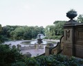 Central Park courtyard and fountain, New York, New York LCCN2011630827.tif