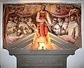 Cerchia del poccetti (forse ulisse giocchi), novizi domenicani che offrono il cuore alla madonna, 1590-1610, 02.jpg