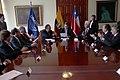 Ceremonia de Deposito del Instrumento de Ratificación al Protocolo Adicional al Tratado Constitutivo de la Unión de Naciones Suramericanas UNASUR. Sobre Compromiso con la Democracia por Parte de la República de Chile (6836538426).jpg