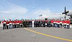 Ceremonia de recepción de la expedición ANTAR XXIII (16664263555).jpg