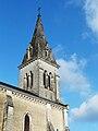 Château-l'Evêque église clocher.JPG